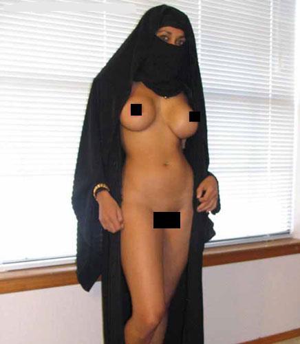 голая мусульманка фото